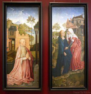 Triptyque de l'Annonciation (1434) Rogier Van der Weyden - Galleria Sabauda Palazzo Reale Turin