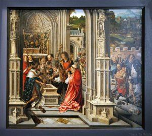 Sans titre (recto) (1515) Bernard Van Orley - Galleria Sabauda Palazzo Reale Turin
