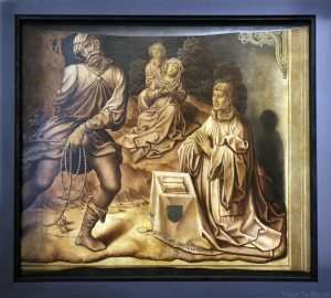 Sans titre (verso) (1515) Bernard Van Orley - Galleria Sabauda Palazzo Reale Turin