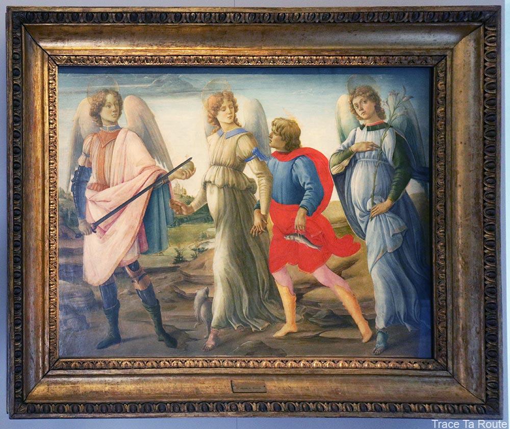 Les trois Archanges avec Tobie (1477-1478) Filippino Lippi - Galleria Sabauda Palazzo Reale Turin