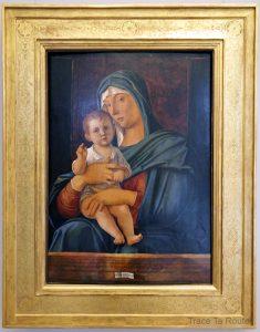 Vierge à l'Enfant (vers 1475) Giovanni BELLINI - Galleria Sabauda Palazzo Reale Turin