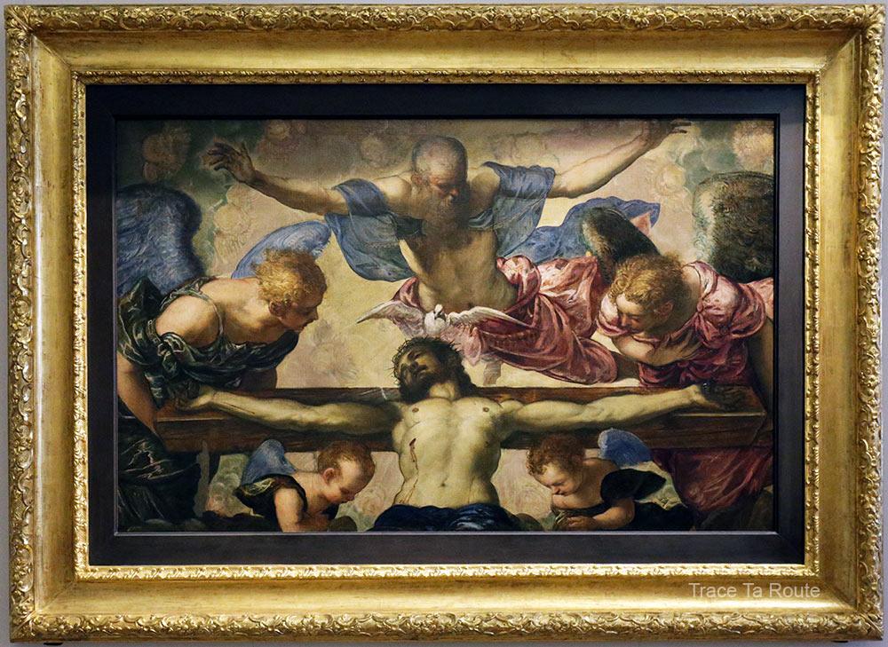 La Trinité (1561-1562) TINTORET - Galleria Sabauda Palazzo Reale Turin