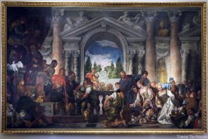 La Reine de Saba offrant des cadeaux au Roi Salomon (1582) Paolo VERONESE - Galleria Sabauda Palazzo Reale Turin