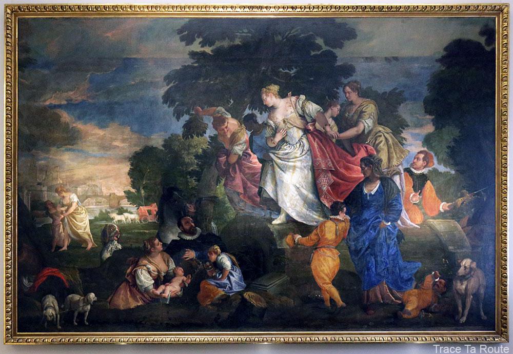 La découverte de Moïse (1582) Paolo VERONESE - Galleria Sabauda Palazzo Reale Turin