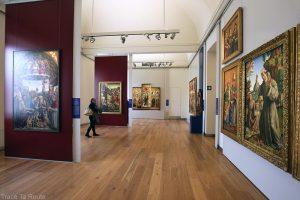 Galleria Sabauda - oeuvres tableaux intérieur salle du musée du Palazzo Reale de Turin