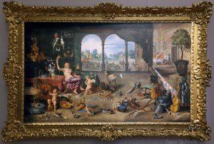 Vanité de la vie humaine (1631) Jan BRUEGEL Le JEUNE - Galleria Sabauda Palazzo Reale Turin