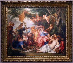 Amaryllis et Myrtille (1631) Antoine VAN DYCK - Galleria Sabauda Palazzo Reale Turin