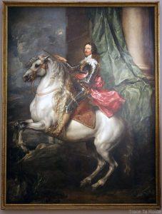 Portrait équestre du Prince Thomas François de Carignan (1634) Antoine VAN DYCK - Galleria Sabauda Palazzo Reale Turin
