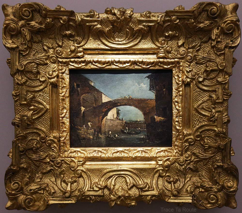 La porte de Dolo (1780-1785) Francesco GUARDI - Galleria Sabauda Palazzo Reale Turin
