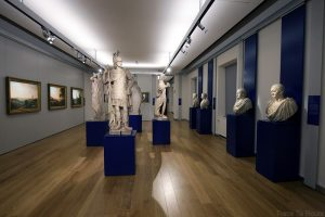Sculptures antiques des empereurs romains et dieux grecs (anonyme) - Galleria Sabauda Palazzo Reale Turin