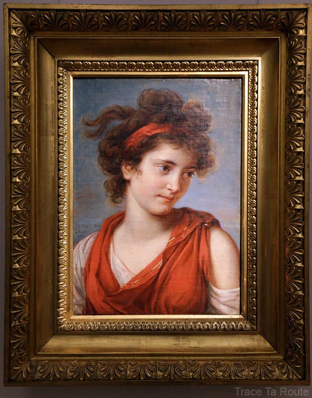 Portrait de Margherita Porporati (1792) Louise-Elisabeth VIGÉE LEBRUN - Galleria Sabauda Palazzo Reale Turin