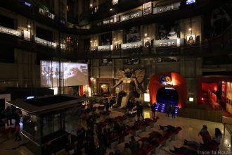 Salle intérieur Mole Antonelliana Musée du Cinéma de Turin - Museo Nazionale del Cinema Torino tempio della Mole