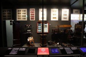 Musée du Cinéma de Turin - machines stéréoscopie salle Archéologie Histoire du Cinéma - Mole Antonelliana Museo Nazionale del Cinema Torino