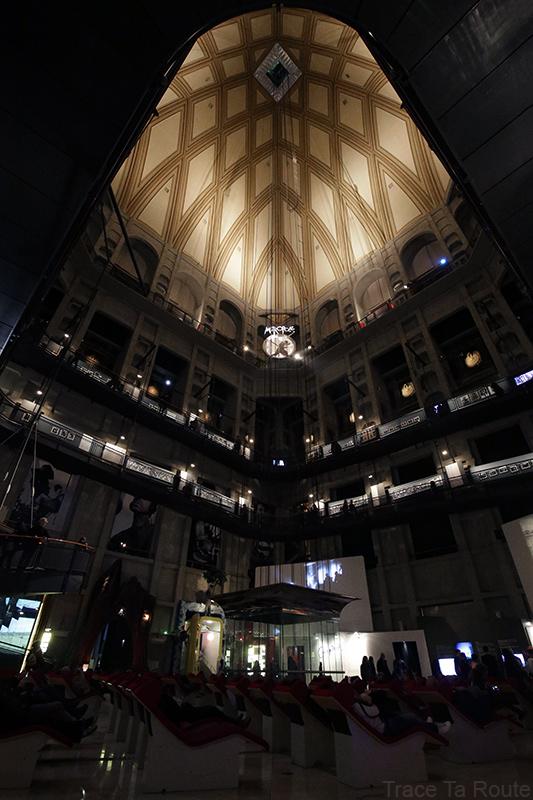 Mole Antonelliana Musée du Cinéma de Turin Museo Nazionale del Cinema Torino - intérieur architecture voute dome coupole ascenseur tempio della Mole