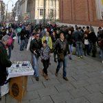 Via Montebello File d'attente Musée du Cinéma de Turin - Mole Antonelliana Museo Nazionale del Cinema Torino
