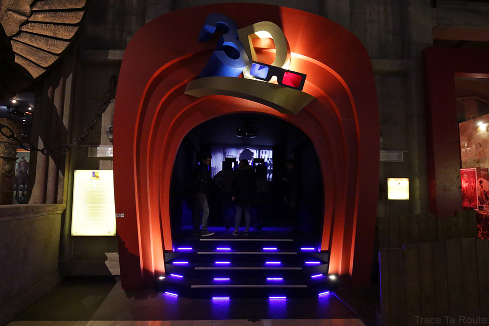 Intérieur Musée du Cinéma de Turin Mole Antonelliana Museo Nazionale del Cinema Torino - salle 3D