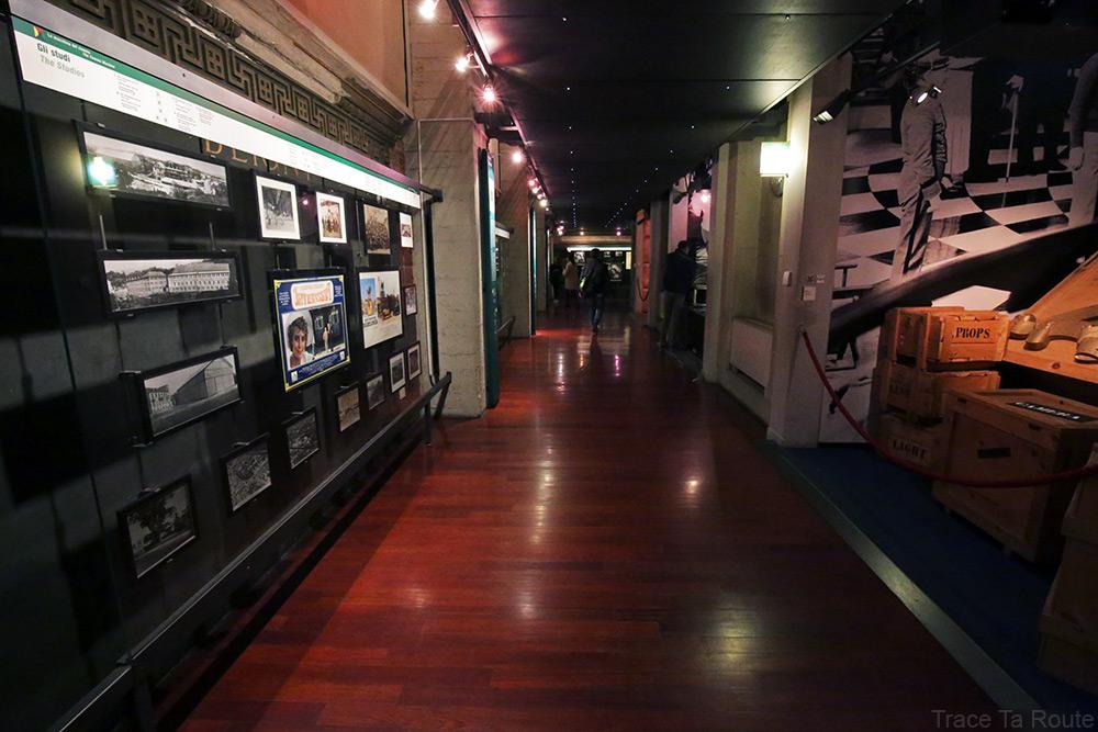 Musée du Cinéma de Turin Museo Nazionale del Cinema Torino Mole Antonelliana - couloir 4e étage