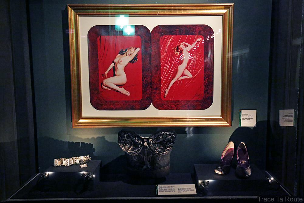 Musée du Cinéma de Turin Museo Nazionale del Cinema Torino Mole Antonelliana - 4e étage corset Marilyn Monroe