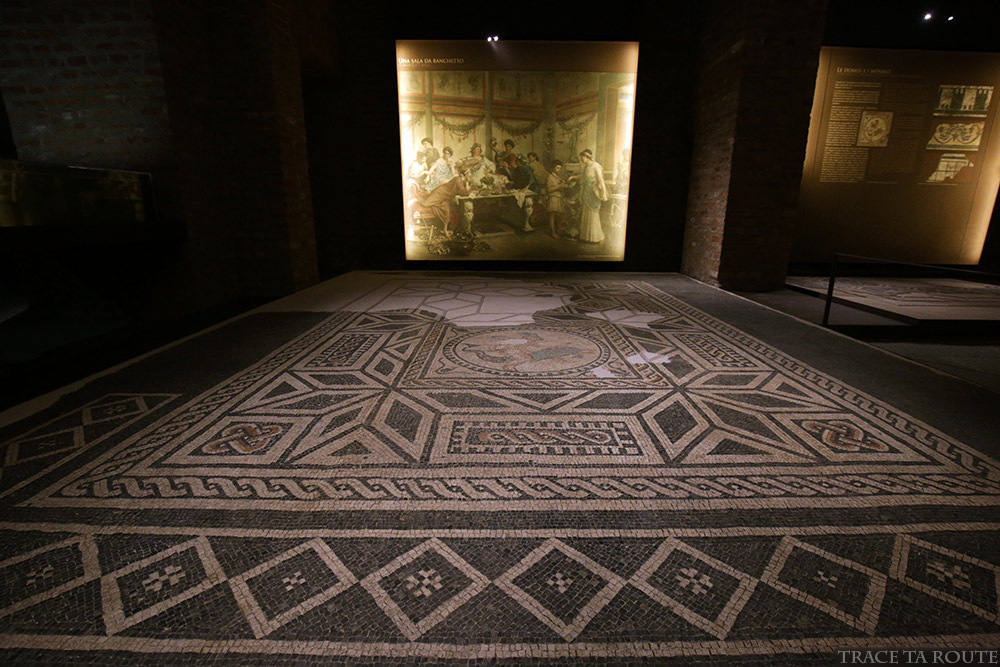 Mosaïque Musée Archéologique Turin - Museo Archeologico Palazzo Reale Torino