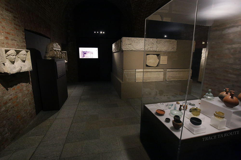 Salle Musée Archéologique Turin - Museo Archeologico Palazzo Reale Torino