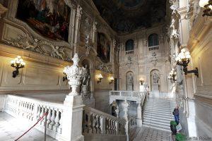 Palazzo Reale Turin - escalier d'honneur du Palais Royal