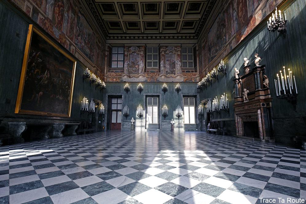 Palazzo Reale Turin - Salon de la Garde Suisse du Palais Royal