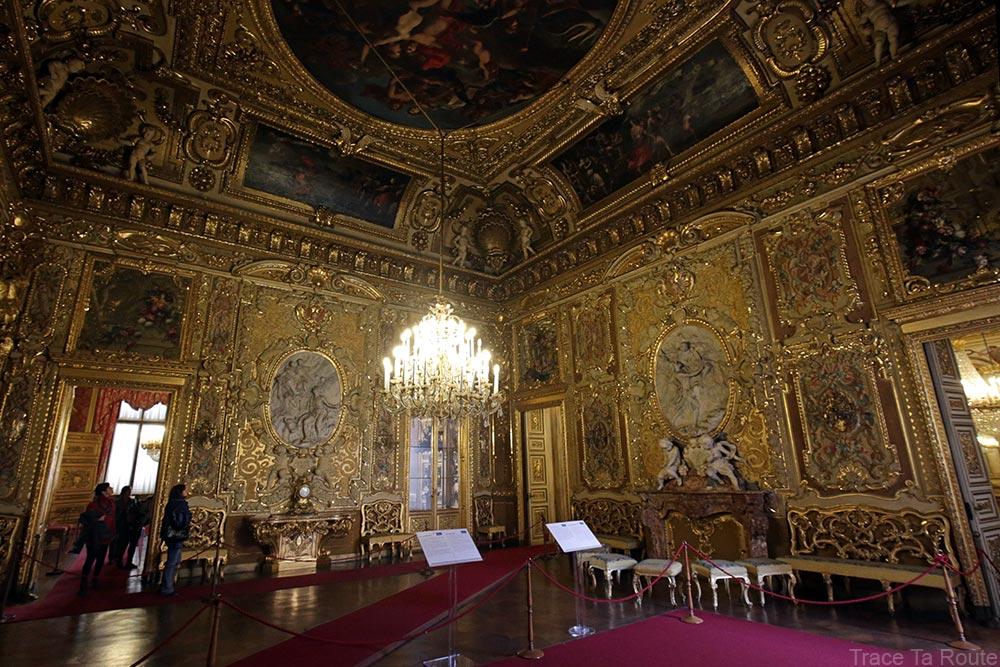 Palazzo Reale Turin - salle du médaillon du Palais Royal