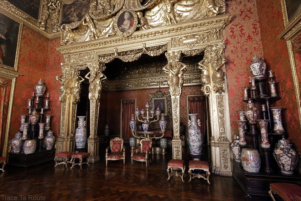 Palazzo Reale Turin - salle de l'alcôve du Palais Royal