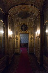 Palazzo Reale Turin - couloir intérieur du Palais Royal