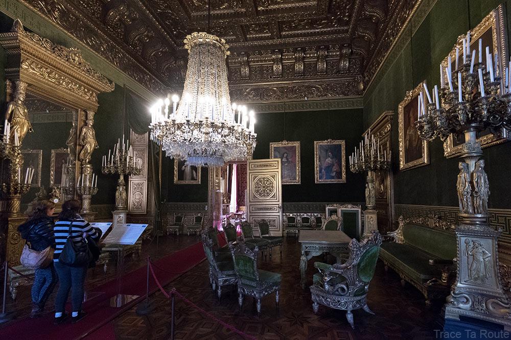 Palazzo Reale Turin - salle du Conseil du Palais Royal