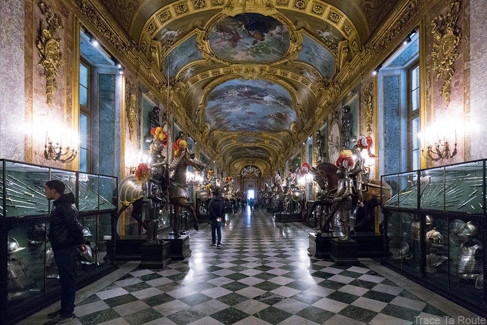 Palazzo Reale Turin - Salle d'Armes Armeria Reale du Palais Royal
