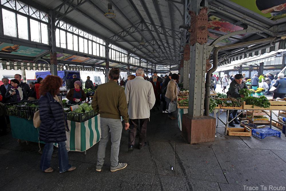 Marché de Turin - Halles Piazza della Repubblica, Torino