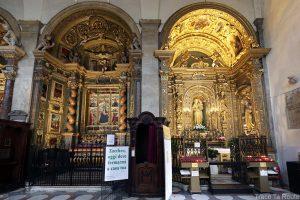 Intérieur Cathédrale Saint-Jean-Baptiste de Turin - chapelles Duomo di Torino