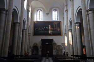 Intérieur Cathédrale Saint-Jean-Baptiste de Turin - nef Duomo di Torino La Cène