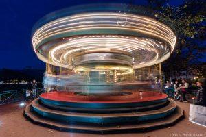 Carrousel d'Annecy sur le Pâquier © L'Oeil d'Édouard