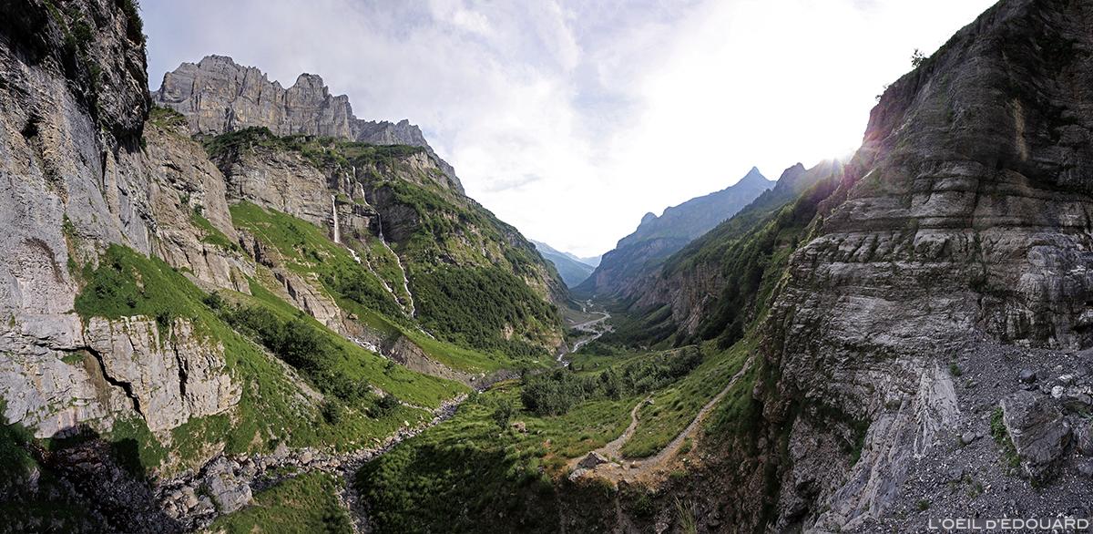 Le Bout du Monde de Fer-à-Cheval avec le Pic de Tenneverge © L'Oeil d'Édouard