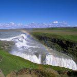 Cascade chute d'eau Gullfoss en Islande © Andreas Tille