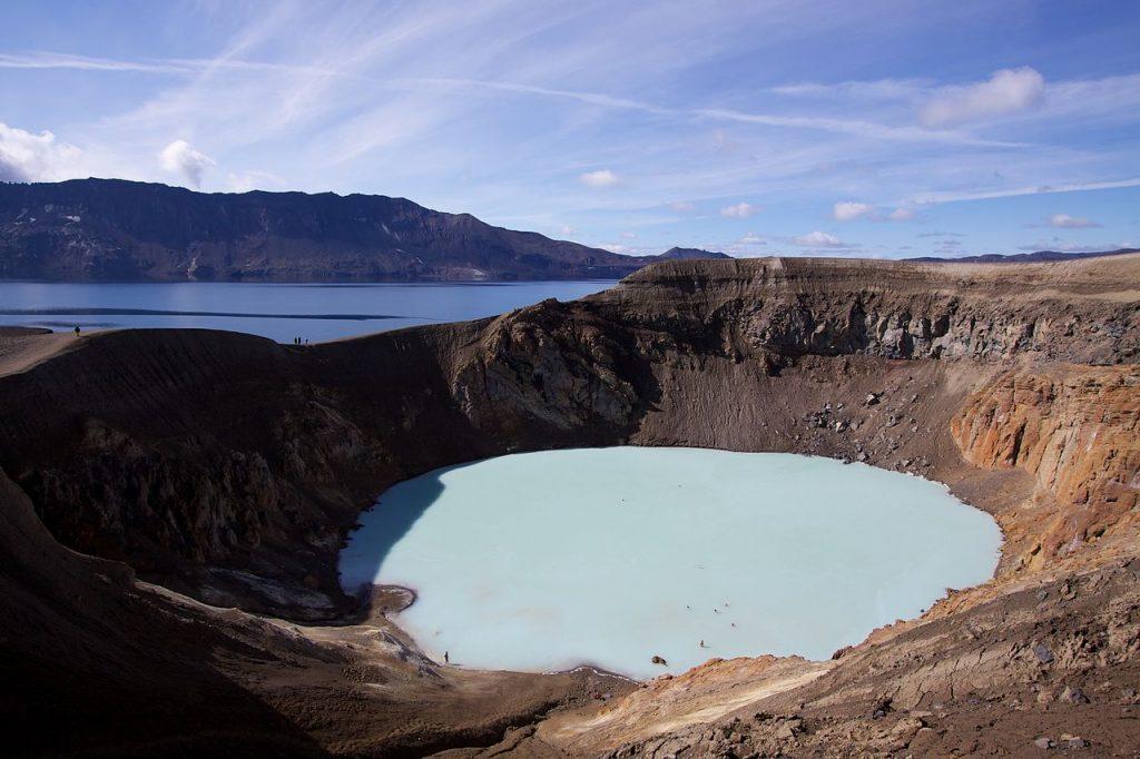 Lac du cratère Viti en Islande © Boaworm