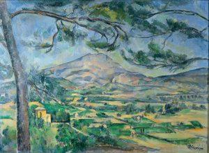 La Montagne Sainte-Victoire (1885-1887) Paul CÉZANNE