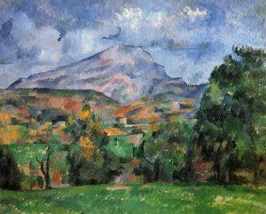 La Montagne Sainte-Victoire (1888-1890) Paul CÉZANNE