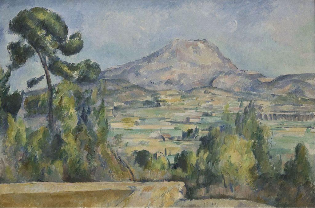 La Montagne Sainte-Victoire (vers 1890) Paul CÉZANNE