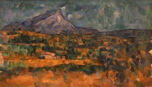 La Montagne Sainte-Victoire (entre 1902 et 1906) Paul CÉZANNE