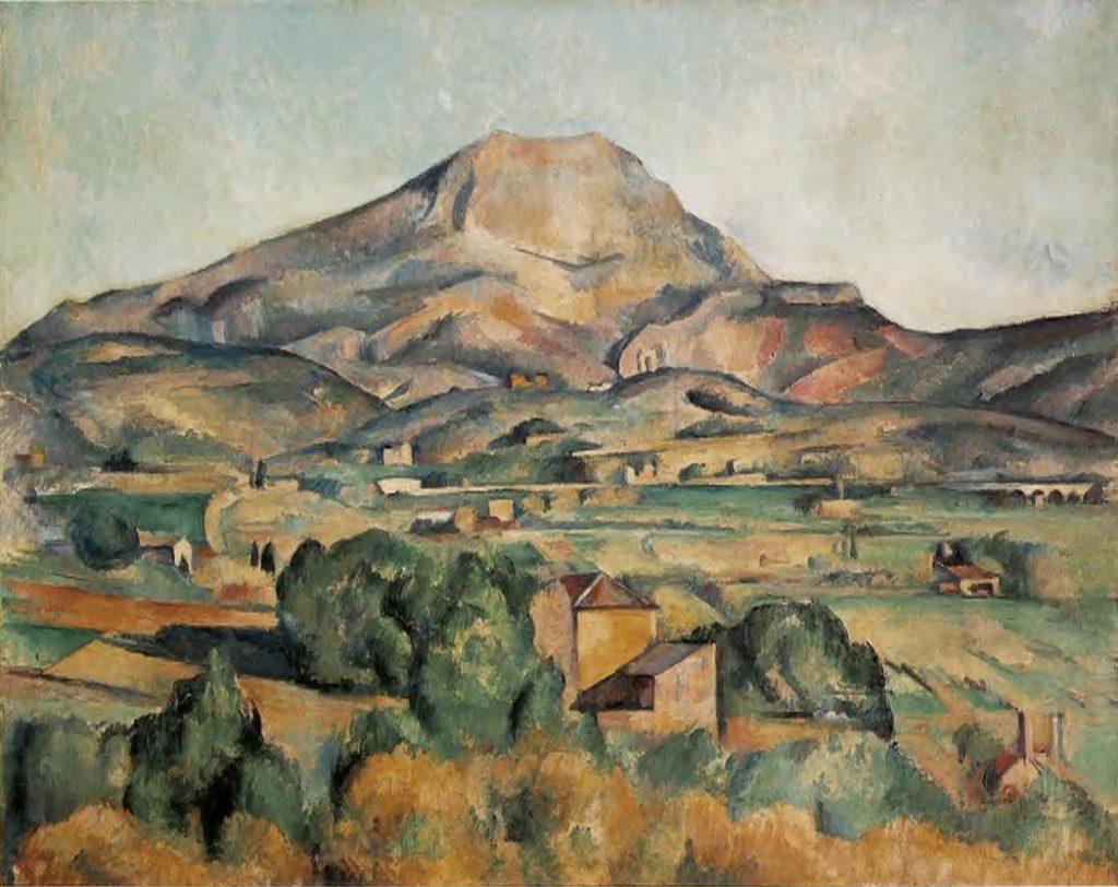 La Montagne Sainte-Victoire vue de Bellevue (vers 1885) Paul CÉZANNE