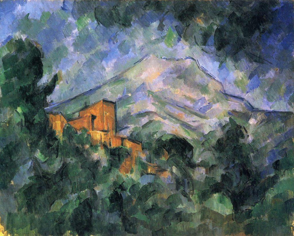La Montagne Sainte-Victoire et Le Château Noir (entre 1904 et 1906) Paul CÉZANNE