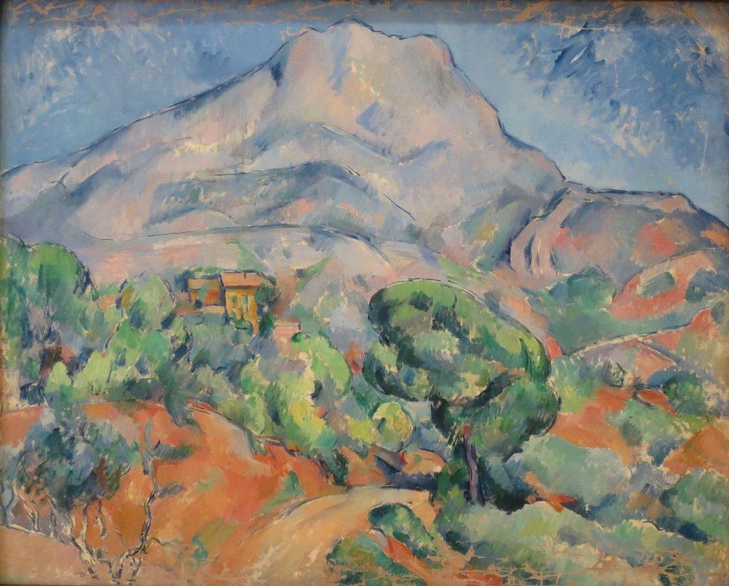 Route devant la Montagne Sainte-Victoire (entre 1898 et 1902) Paul CÉZANNE