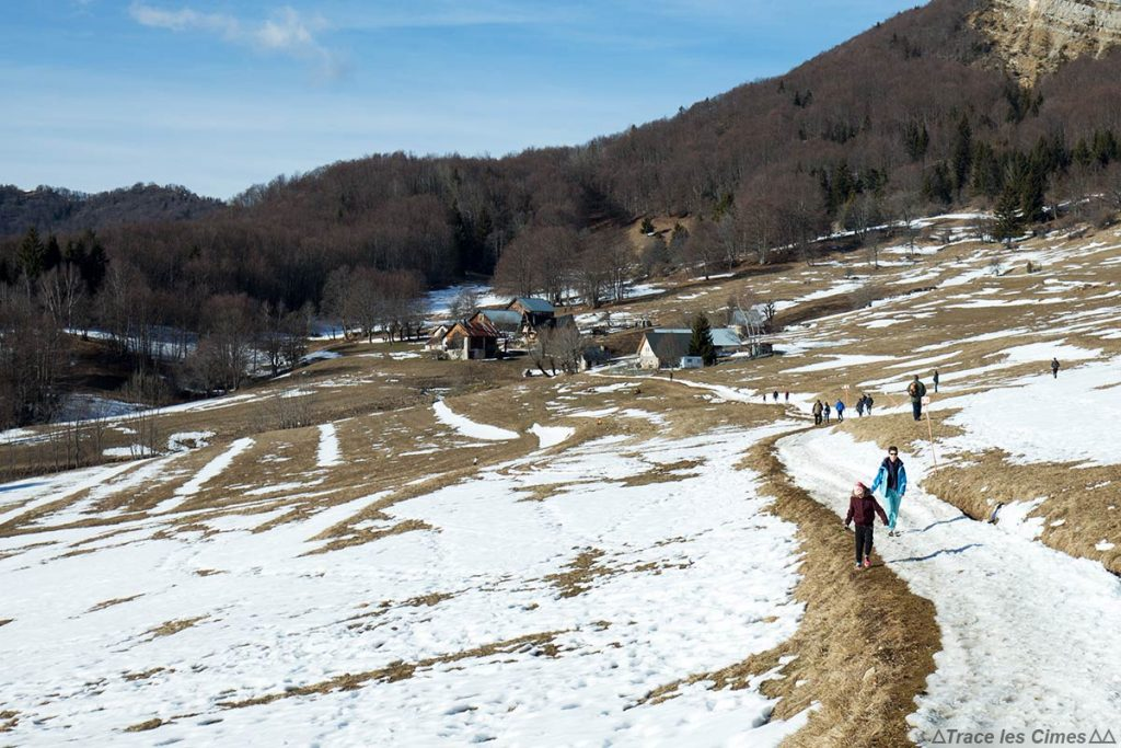 Les Granges de Joigny en hiver, Massif de la Chartreuse