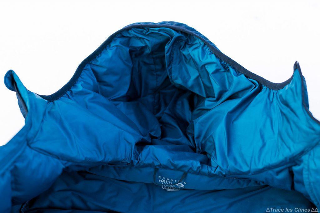 Intérieur capuche Doudoune Stretchdown Plus Hooded Jacket Mountain Hardwear