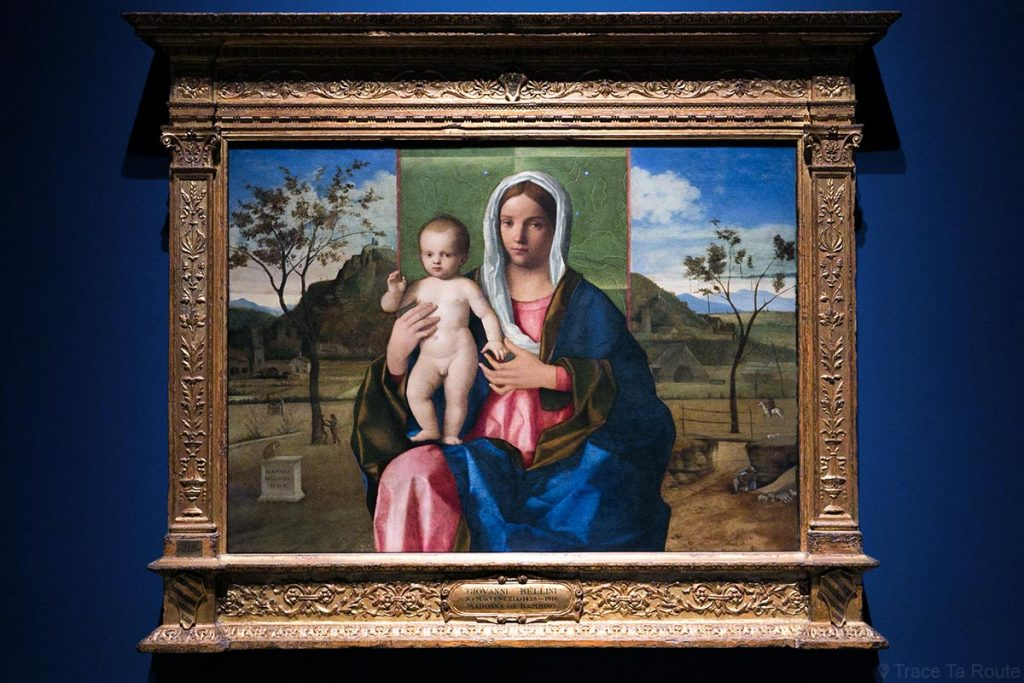 """""""Vierge à l'Enfant"""" (1510) Giovanni BELLINI - Pinacothèque de Brera, Milan"""