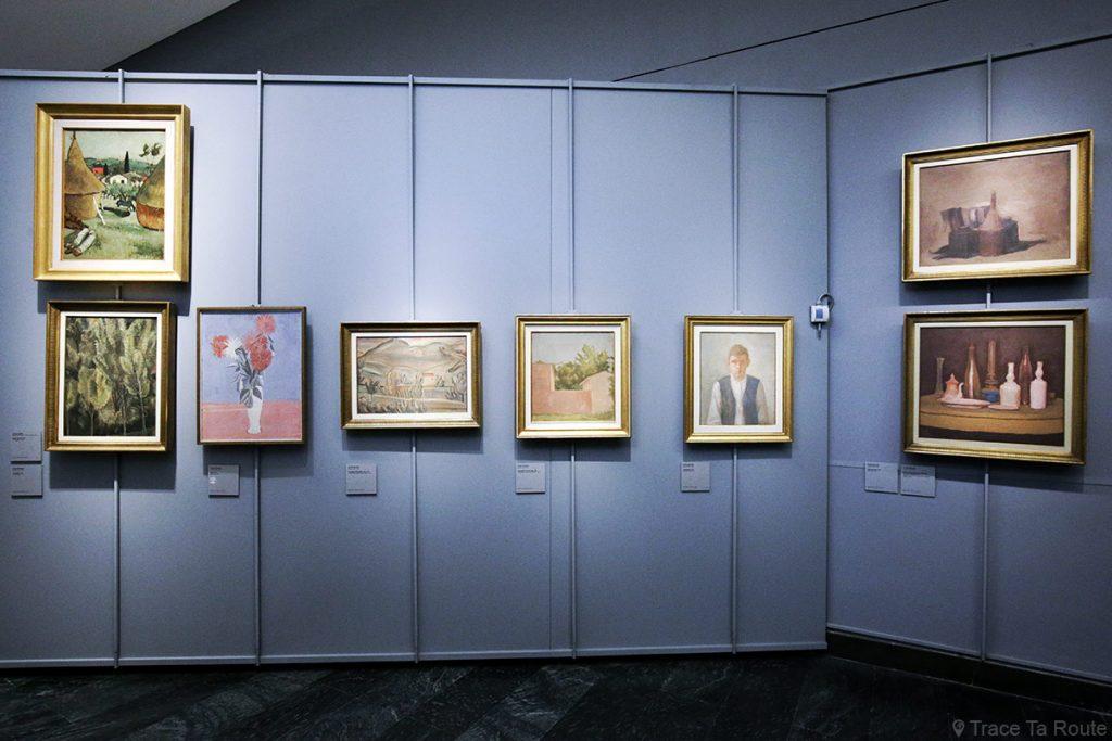 Salle exposition Donation Jesi - Pinacothèque de Brera de Milan - Giorgio MORANDI