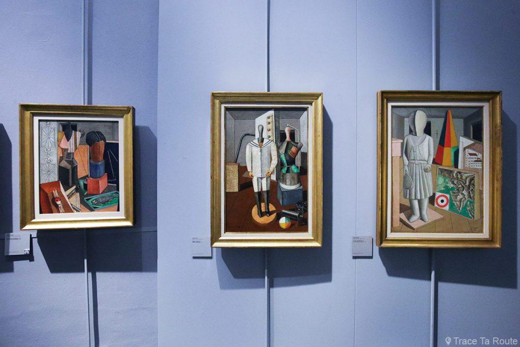 Salle exposition Donation Jesi - Pinacothèque de Brera de Milan - Carlo CARRÀ